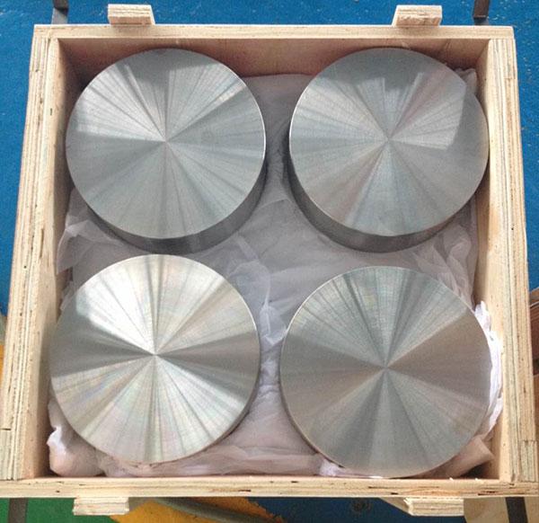 Titanium forging disc